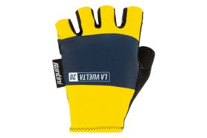 Santini Tourmalet Gloves - Yellow