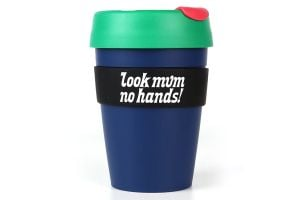 Look Mum No Hands! KeepCup Plastic 12oz - Blue