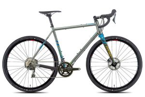 Niner Bikes RLT 9 STEEL AXS 2X Gravel Bicycle - Grey
