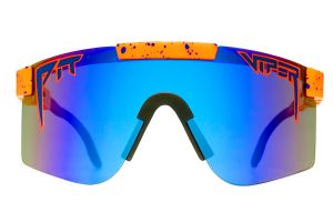 Pit Viper The Crush Polarized Double Wide Glasses - Blue