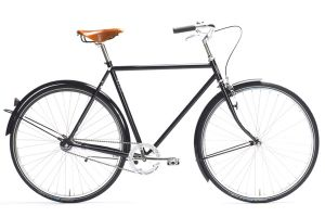 Pelago Bristol Classic City Bicycle - Black