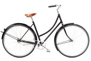 Pelago Brooklyn Classic Ladies Bicycle - Black