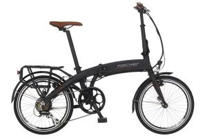 Fischer FR18 Folding e-Bike - Black