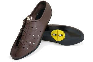 Proou Lombardia Corsa Cycling Shoes With Cleats - Brown